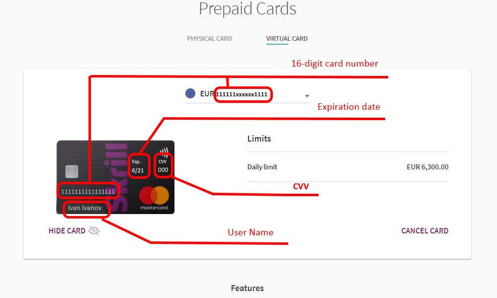 Carte net prepaid mastercard