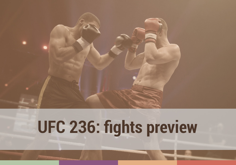 UFC 236: fight preview