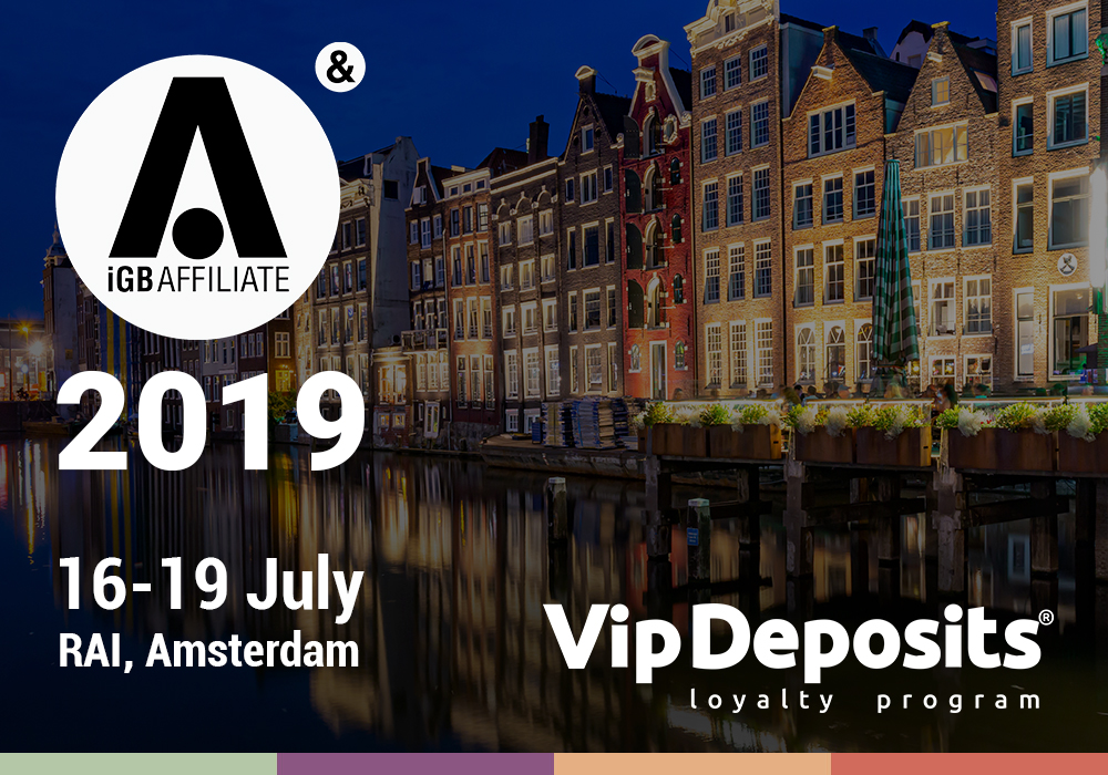 VipDeposits at iGB Affiliate Amsterdam