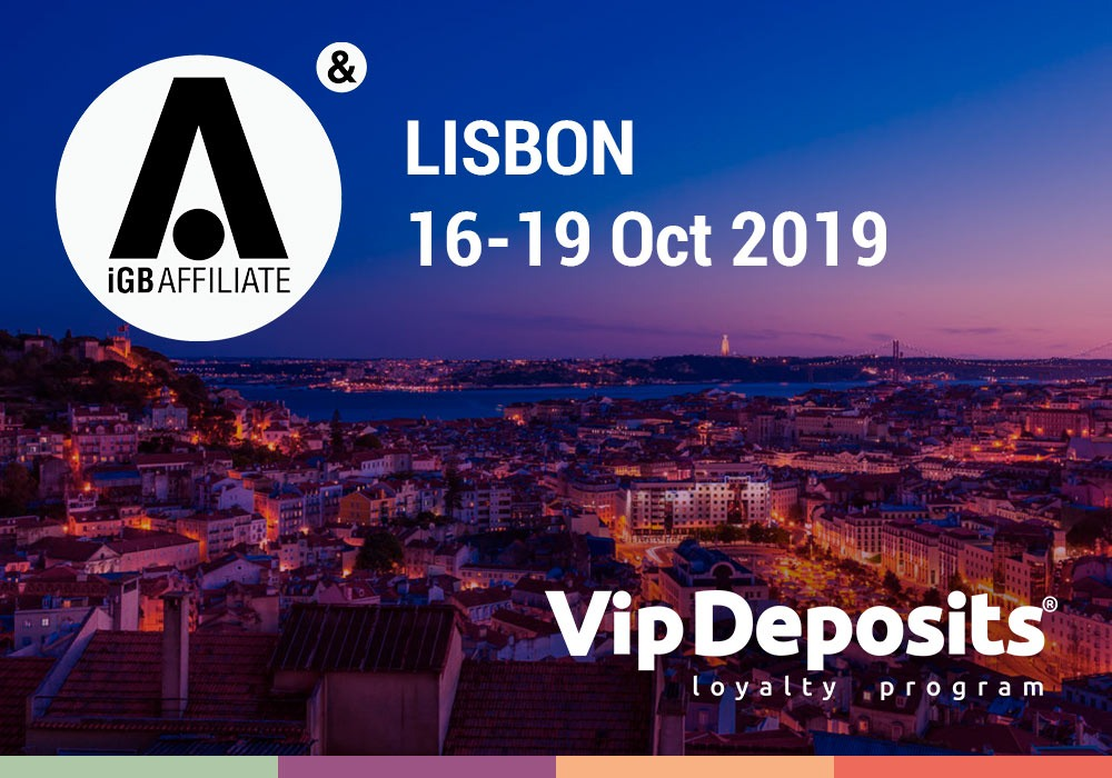 VipDeposits at iGB Affiliate Lisbon 2019