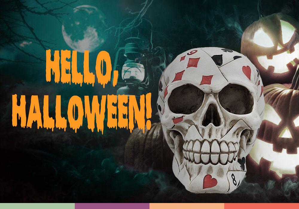 Hello it's Halloween!