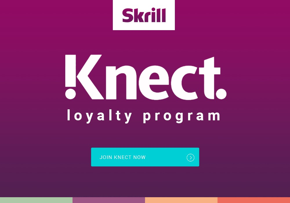 Skrill Knect loyalty program: get rewards with every transaction