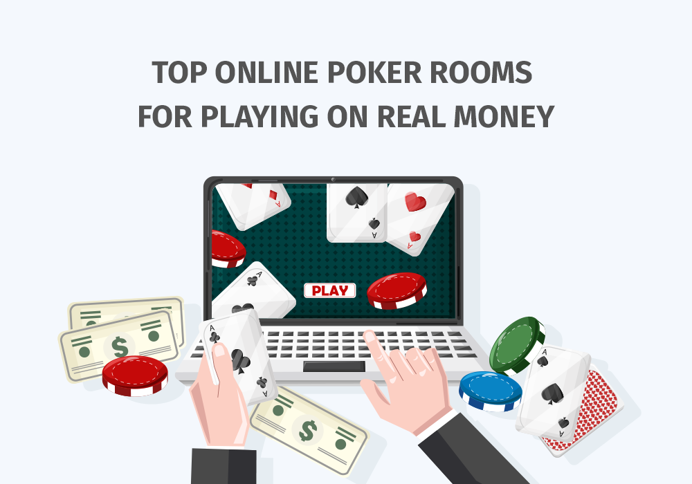 THE TOP 5 ONLINE POKER ROOMS FOR REAL MONEY